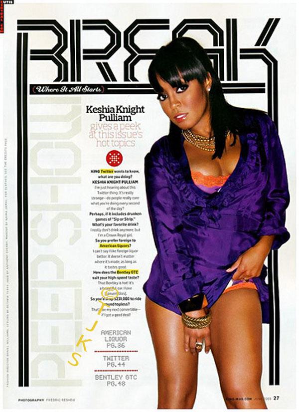 Bikini Keshia Knight Pulliam#8