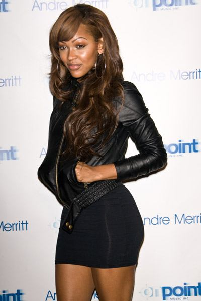 meagan good new haircut. Meagan Good and that tight